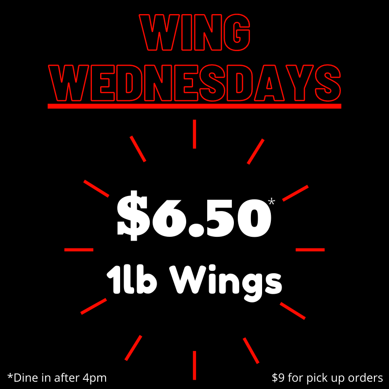 Wing Wednesday special